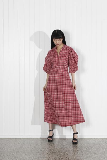 Rachel Comey Amplus Dress - Crimson