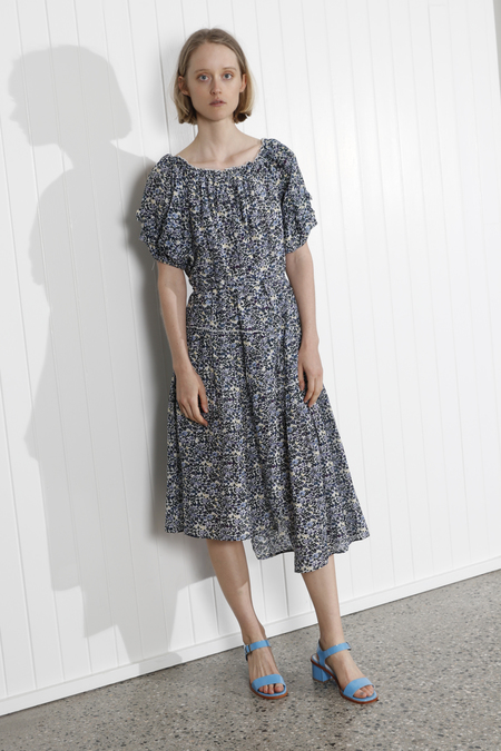 Apiece Apart Sandrine Dress - Navy