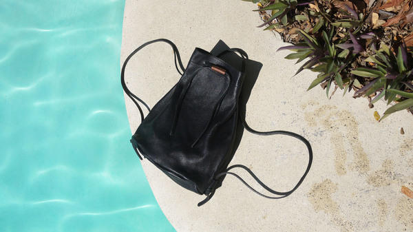 AW by Andrea Wong Bucket Bag/Backpack | Black