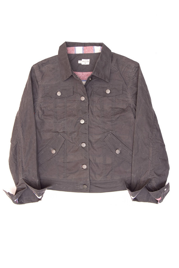 Bridge & Burn Alvord Grey Waxed Jacket