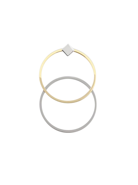 LILIAN V TRAPP DOUBLES AND SINGLES EARRINGS - 14k Gold