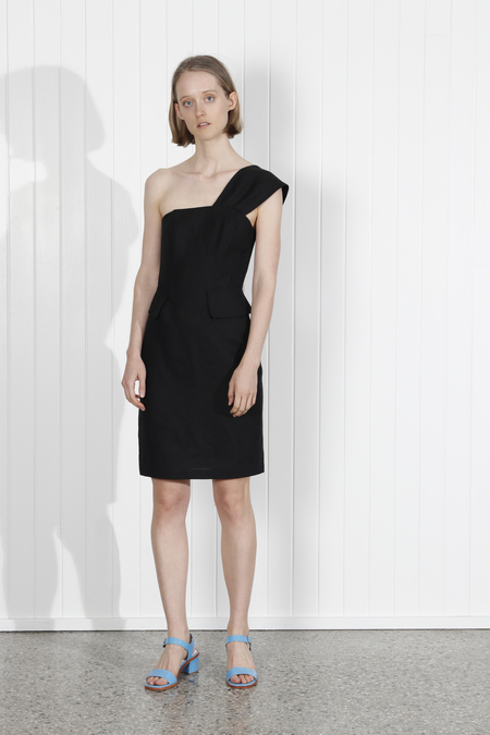 No.6 Delphine Dress - Black