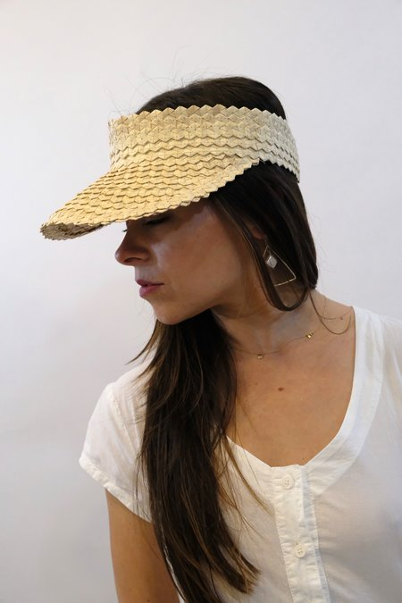 BAIAE Bali Palm Visor - Natural