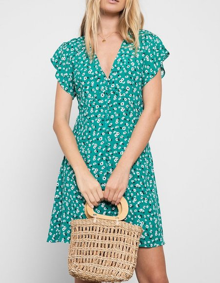 Rails Helena Dress - Sweet Pea Print