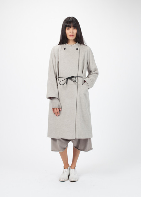 Manuelle Guibal 3/4 Sleeve Zak Coat