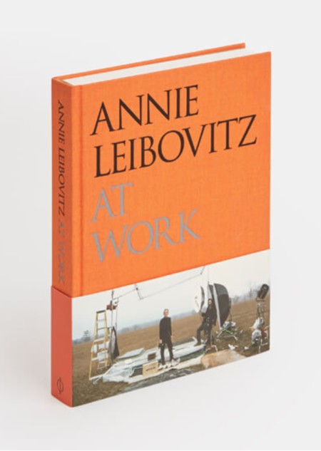 Phaidon Annie Leibovitz at Work Hardcover Book