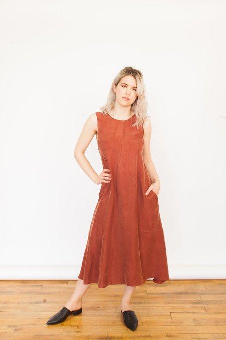 Allison Wonderland Maldives Dress - Brick