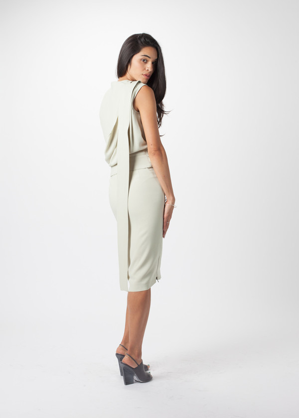 Ter et Bantine Double Zip Skirt