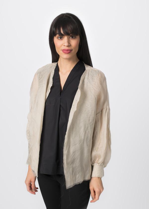 Louiza Babouryan Layered Jacket