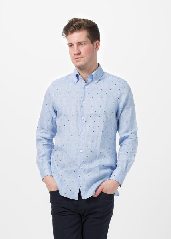 Men's Shockoe Linen Button Down