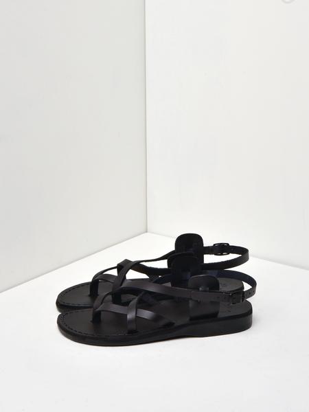 Jerusalem Sandals TAMAR - BLACK (BURKLE)