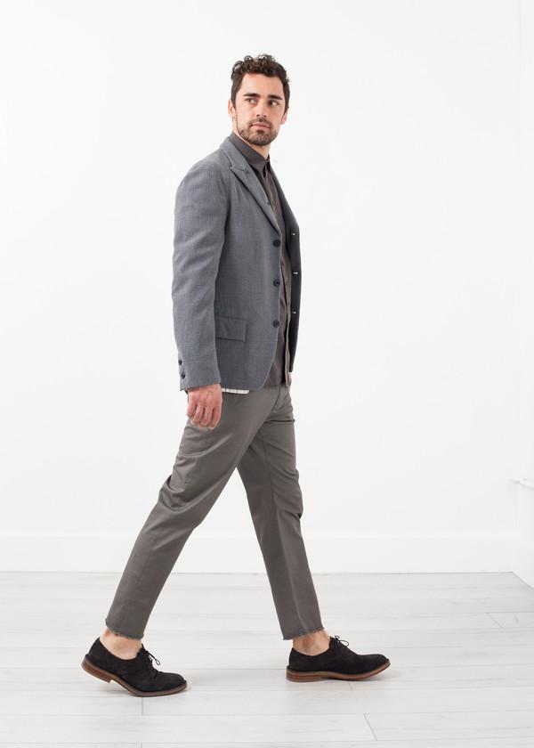 Men's Lardini Washed Wool Blazer