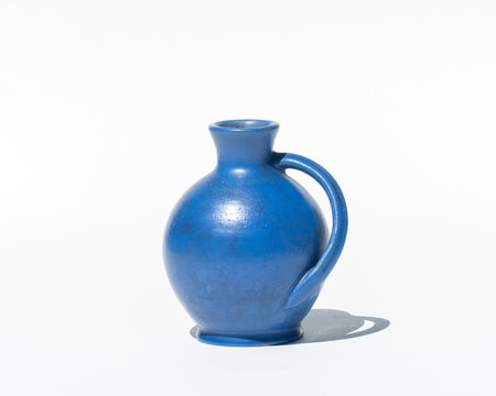 Collected by Wynne Ware Bud Vase by Anton Lang - Klein Blue