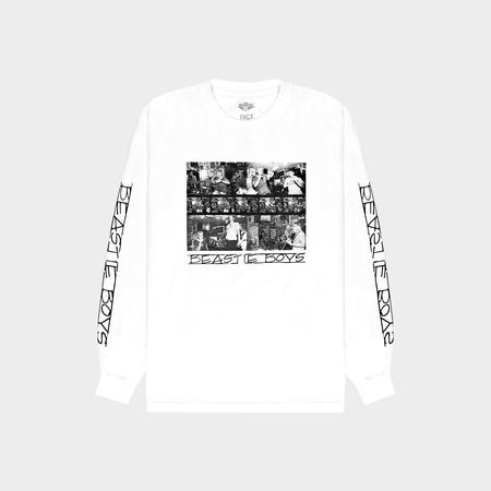 Fact Brand Beastie Boys Photo Long Sleeve - White