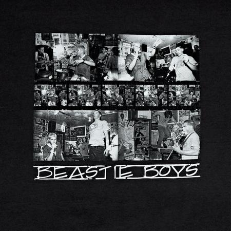 Fact Brand Beastie Boys Photo Long Sleeve - Black