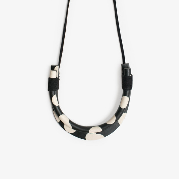 Double Dot Necklace
