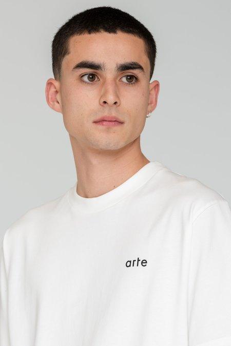 Arte Antwerp Troy Tshirt - White