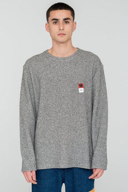 Arte Antwerp Curt  Sweater - Grey Melange