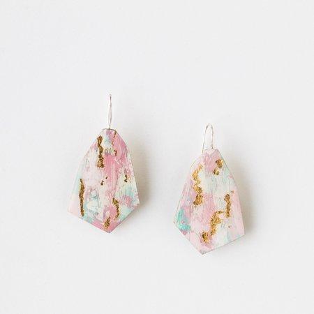Johanne Ratté Painted Earrings