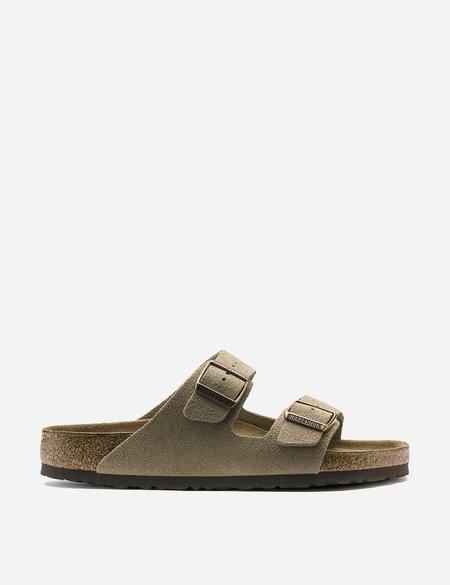 Birkenstock Arizona Sandals Suede (Regular) - Taupe Brown