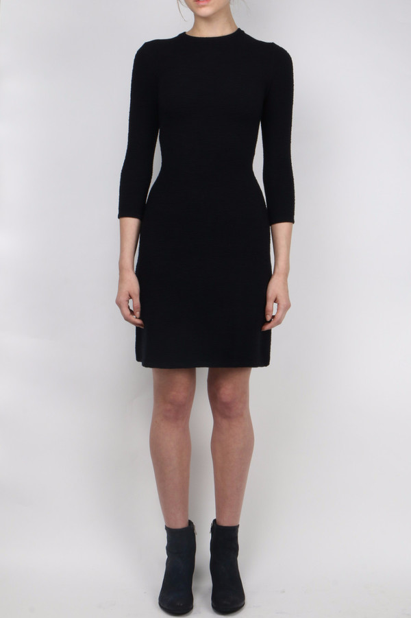 Atea Oceanie Cut-Out Fit and Flare Dress