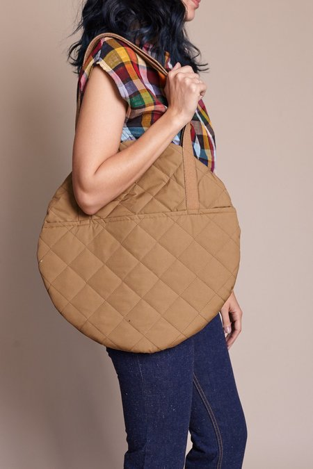 Lotfi Large Circle Tote - Canela