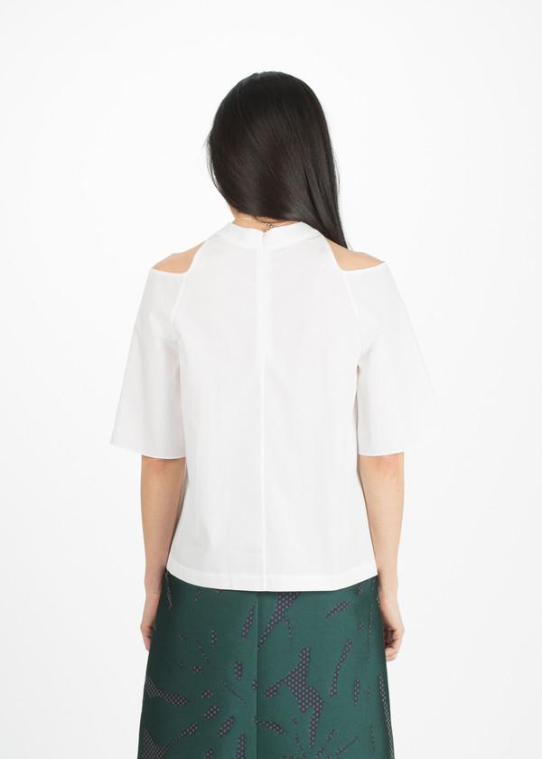 Sayaka Davis Cut Out Shoulder Top