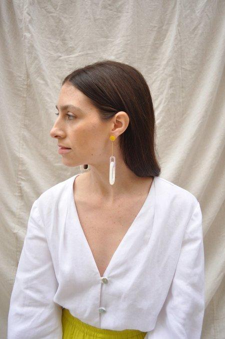iuo Cloud Oblong Earrings