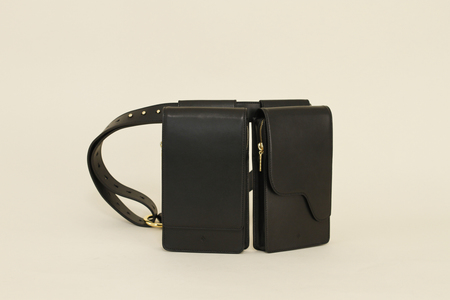 Cedar Valley Multi belt bag - Onyx