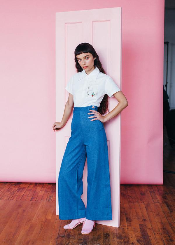 Samantha Pleet Plank Jeans