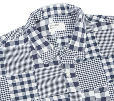Universal Works Road Shirt - Patchwork Madras