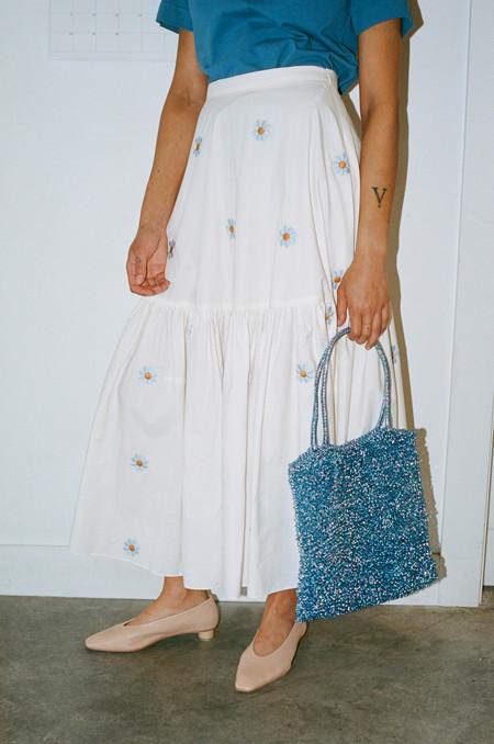 Maryam Nassir Zadeh Valentina Knit Bag - Pacific