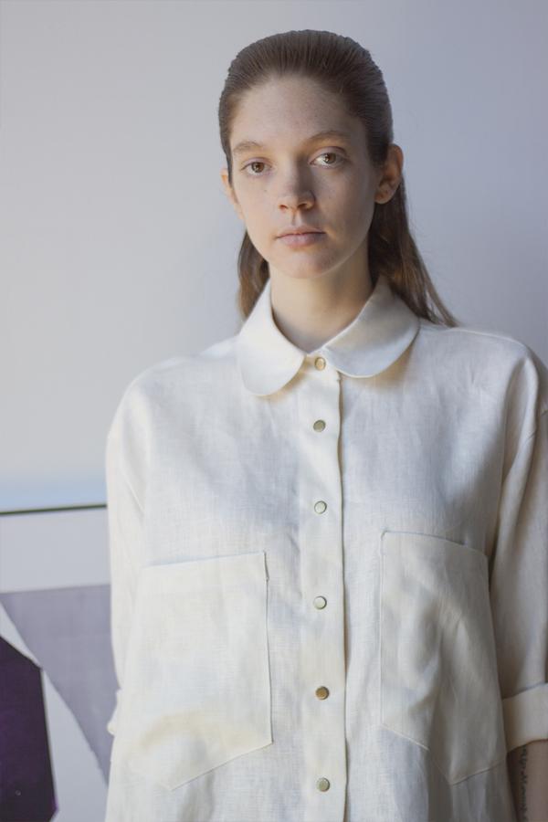 Sunja LInk Linen Shirt