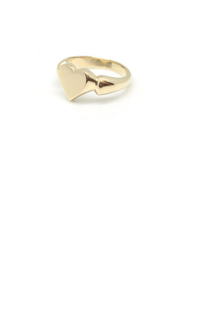 Vayu Vintage Heart Ring
