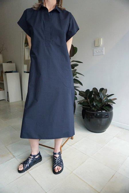 SOFIE D'HOORE DADA CAPE DRESS - NAVY