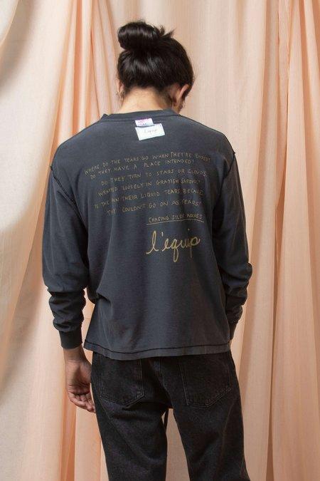 vintage l'equip REPURPOSE NON-LOGO - black