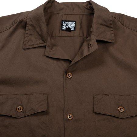 August Fifteenth Detroit Shirt - Brown