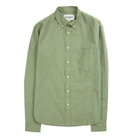 Corridor Summer Shirt - Olive Check