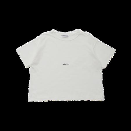 unisex kids East End Highlanders Small Bonito T-Shirt - white