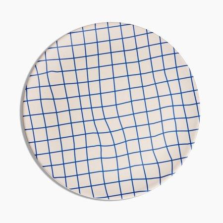 Poketo Bamboo Dinner Plates Set - Grid