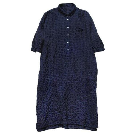 Makié Gina Dress - Indigo Blue Check