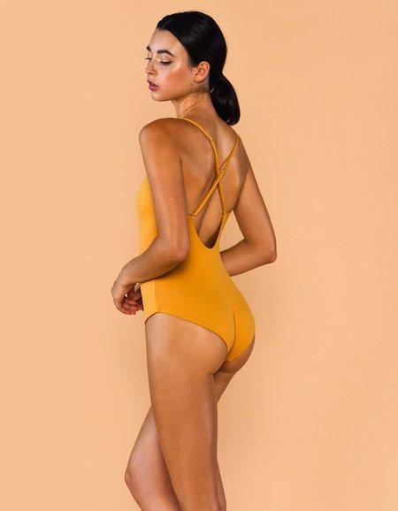 Fenntessa One Piece Swimsuit - Mustard