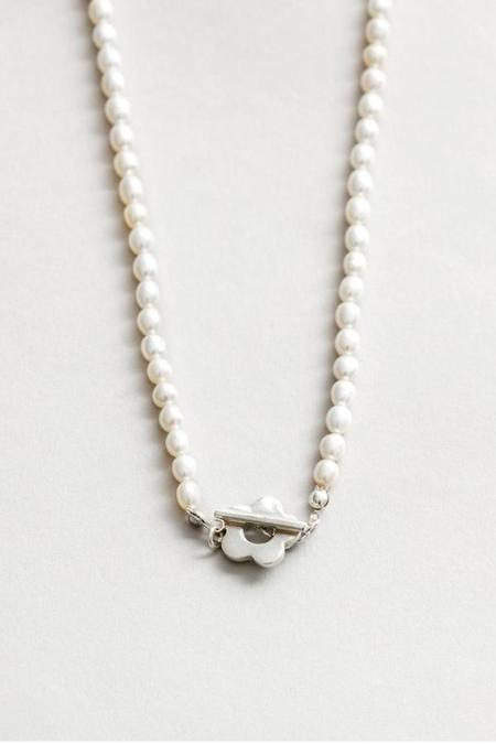 Wolf Circus Sofia Pearl Necklace - Sterling Silver