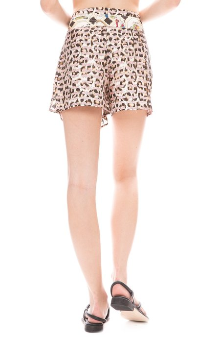 La Prestic Ouiston Tie Shorts - Kiss Love Mumbai