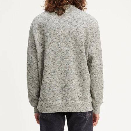 Levi's Made & Crafted Fleece Crew - Geo Terry Grey