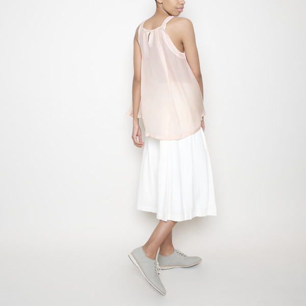 7115 by Szeki Kite Top R16- Blush Stripes