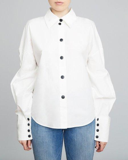 INGA-LENA The Kala Blouse - White