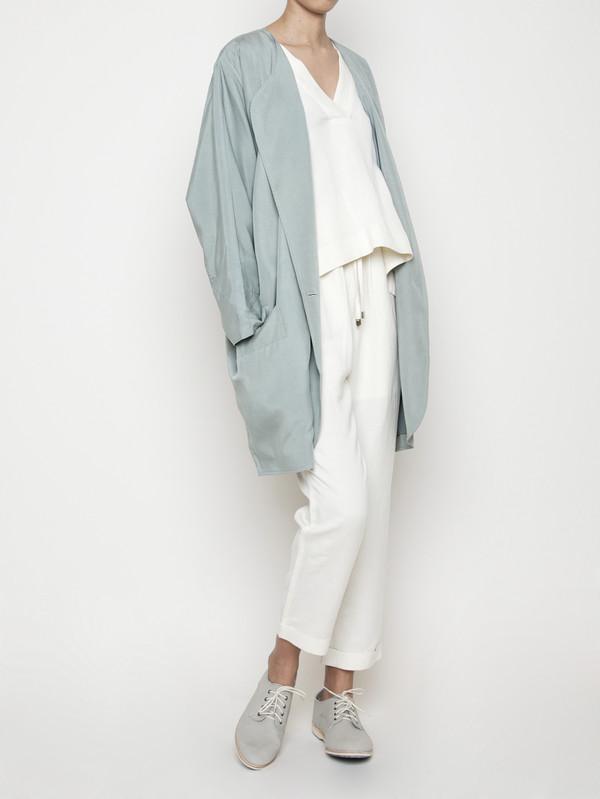 7115 by Szeki Spring Duster Coat