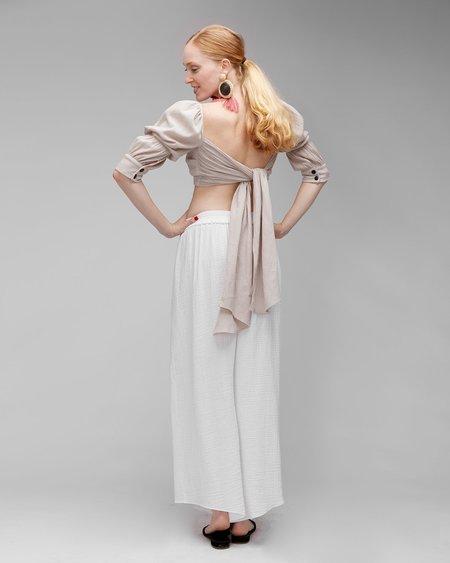 INGA-LENA The Rigga Pant - Off White