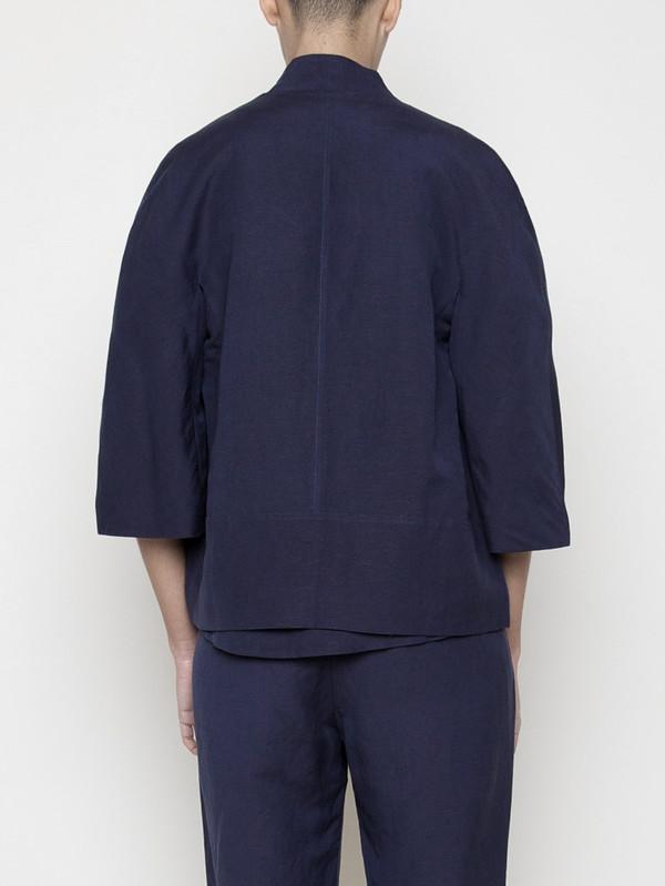 7115 by Szeki Structured Linen Jacket